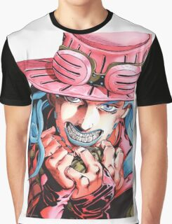 Jojo's bizarre adventure Gyro Zeppeli Graphic T-Shirt