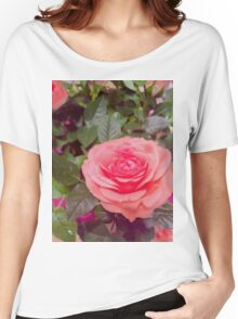 Pretty pink flower Women's Relaxed Fit T-Shirt
