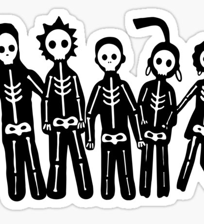 Misfits Lightning Sticker