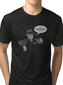 Dames and Horses Tri-blend T-Shirt