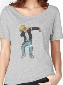 <DAB> Blond Haired Dab Women's Relaxed Fit T-Shirt