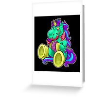 Sharon the Zombiecorn Greeting Card