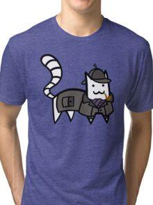 Detective Cat Tri-blend T-Shirt