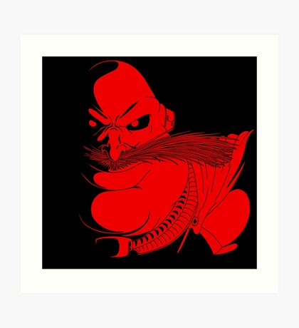 Sonic Satam - Robotnik Art Print