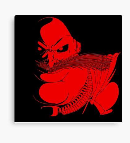 Sonic Satam - Robotnik Canvas Print