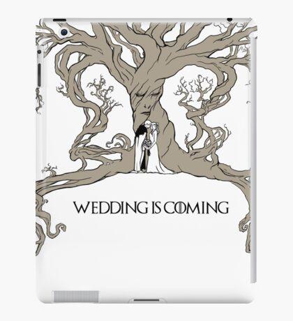 Wedding is coming iPad Case/Skin
