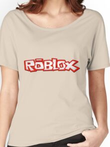 Roblox Title Women's Relaxed Fit T-Shirt