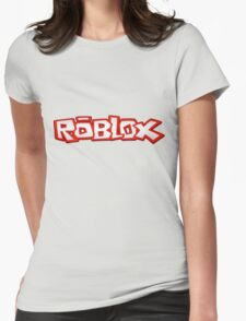 Roblox Title Womens Fitted T-Shirt