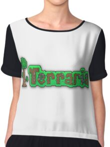 Terraria Logo Chiffon Top