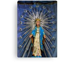 St Mary Statue Canvas Print