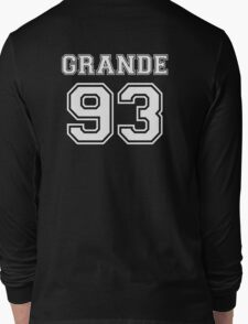 Ariana Grande - 93 Jersey (White) Long Sleeve T-Shirt
