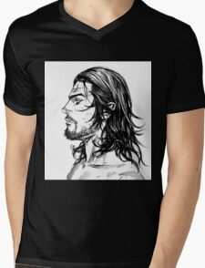 Vagabond #04 Mens V-Neck T-Shirt