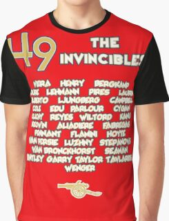 The Arsenal Invincibles, 49 Matches Unbeaten Graphic T-Shirt