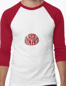 Kawaii Cute Teacake (Tunnocks) Glasgow Men's Baseball ¾ T-Shirt