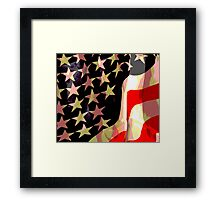 Flag Poster Framed Print