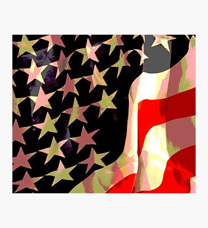 Flag Poster Photographic Print