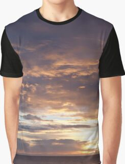 north sea sunrise Graphic T-Shirt