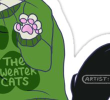 thesweatercats C1 Sticker