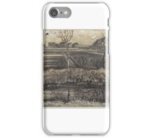 Nursery on Schenkweg , Vincent van Gogh iPhone Case/Skin