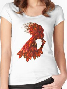 Wings of thought Women's Fitted Scoop T-Shirt