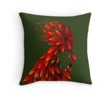 Wings of thought Throw Pillow