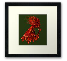 Wings of thought Framed Print