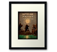 DWO Minecraft - Survival Poster 3 Framed Print