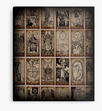 Tarot Metal Print