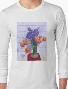 Tulips and Irises  Long Sleeve T-Shirt