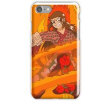 Raiden Legacy - Flaming Flower (Action) iPhone Case/Skin