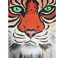 Majestic Tiger Closeup Photographic Print
