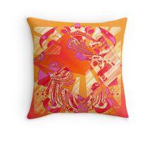Fantasies of Geometry Throw Pillow