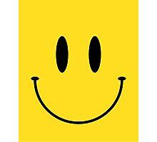 Smile face classic emoji Photographic Print