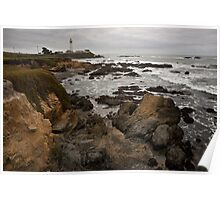 Pigeon Point Lighthouse I Poster