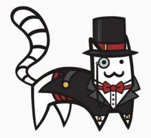 Top Hat Cat by Bobfleadip