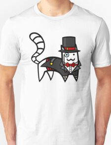 Top Hat Cat Unisex T-Shirt