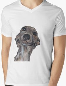 GREYHOUND g909 Mens V-Neck T-Shirt