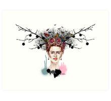 The Little Deer - Frida Kahlo Art Print