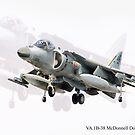 VA.1B-38 McDonnell Douglas EAV-8B Harrier by Nigel Bangert