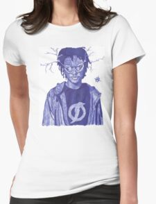 Agent Dorian Static Shock ⚡️⚡️⚡️ Womens Fitted T-Shirt