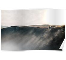 Misty Winnats - Peak District Poster