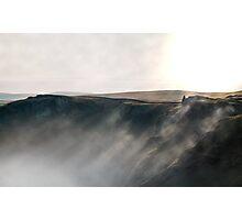 Misty Winnats - Peak District Photographic Print