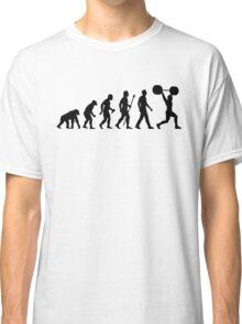 Funny Weightlifting Evolution Shirt Classic T-Shirt
