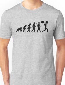 Funny Weightlifting Evolution Shirt Unisex T-Shirt