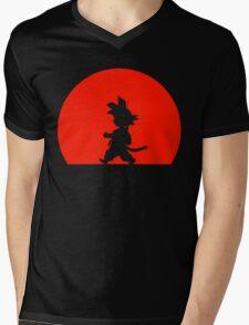Little Saiyan Mens V-Neck T-Shirt