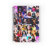 5th Harmony collage edit Spiral Notebook