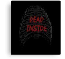 Dead Inside Canvas Print