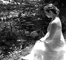 Bride By The Brook by Chet  King