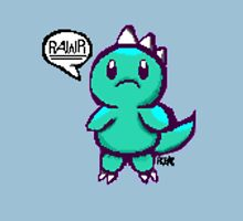 Pixel Rawr (Aqua) Unisex T-Shirt