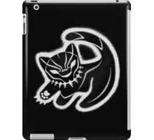 The panther king iPad Case/Skin